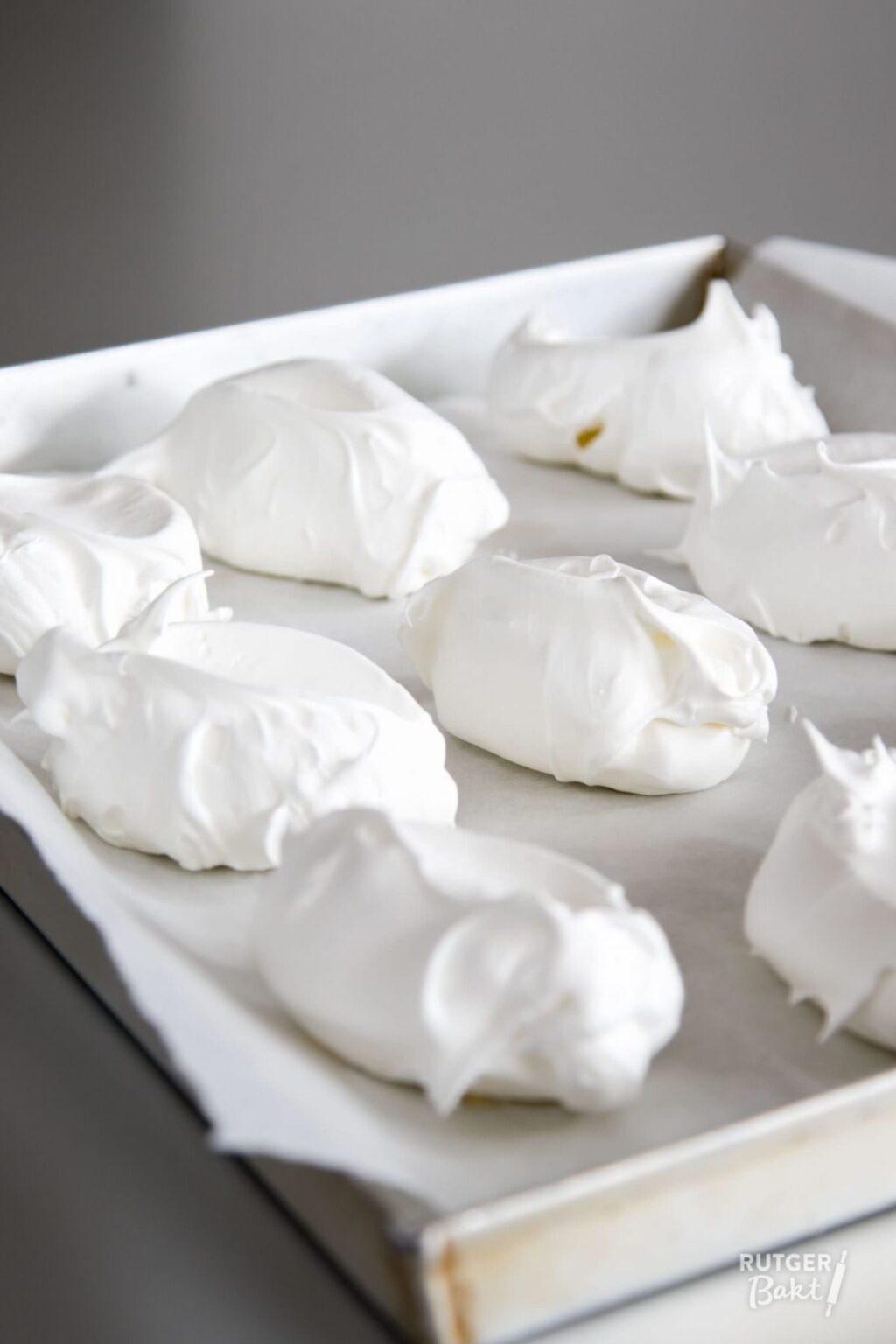 Franse meringues (knapperig schuim) – recept