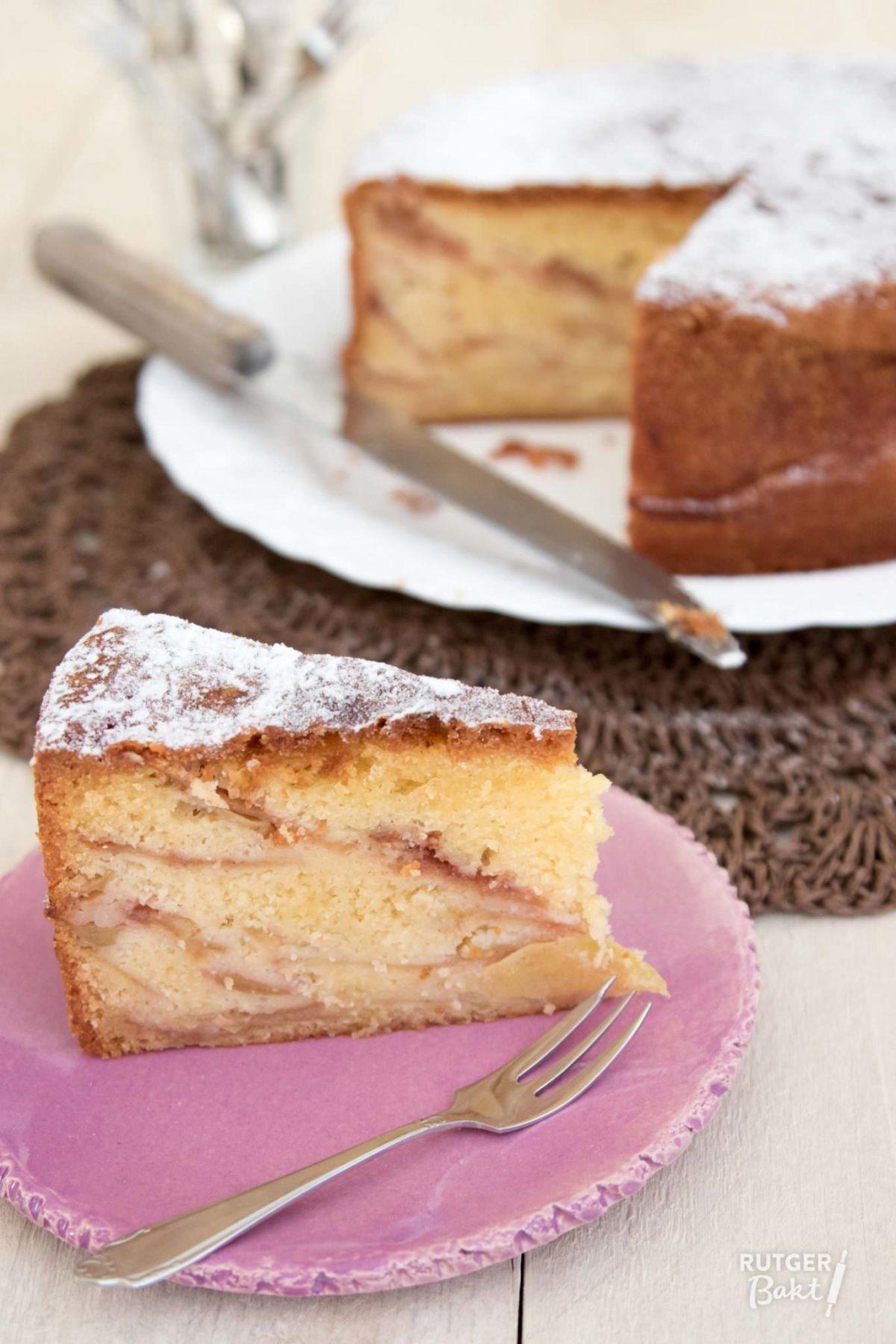 Oma's appelcake bakken – recept