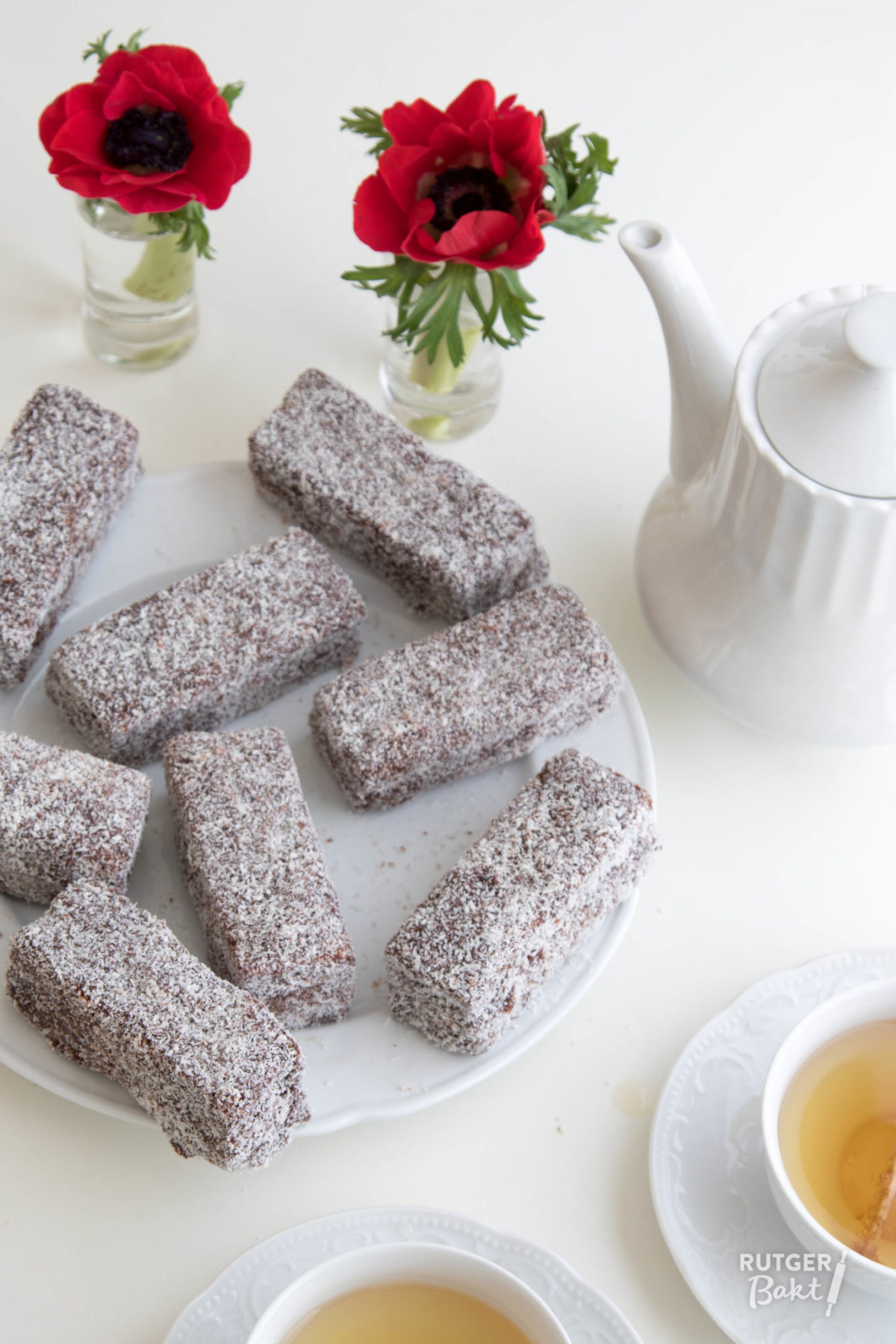 Australische lamingtons – recept