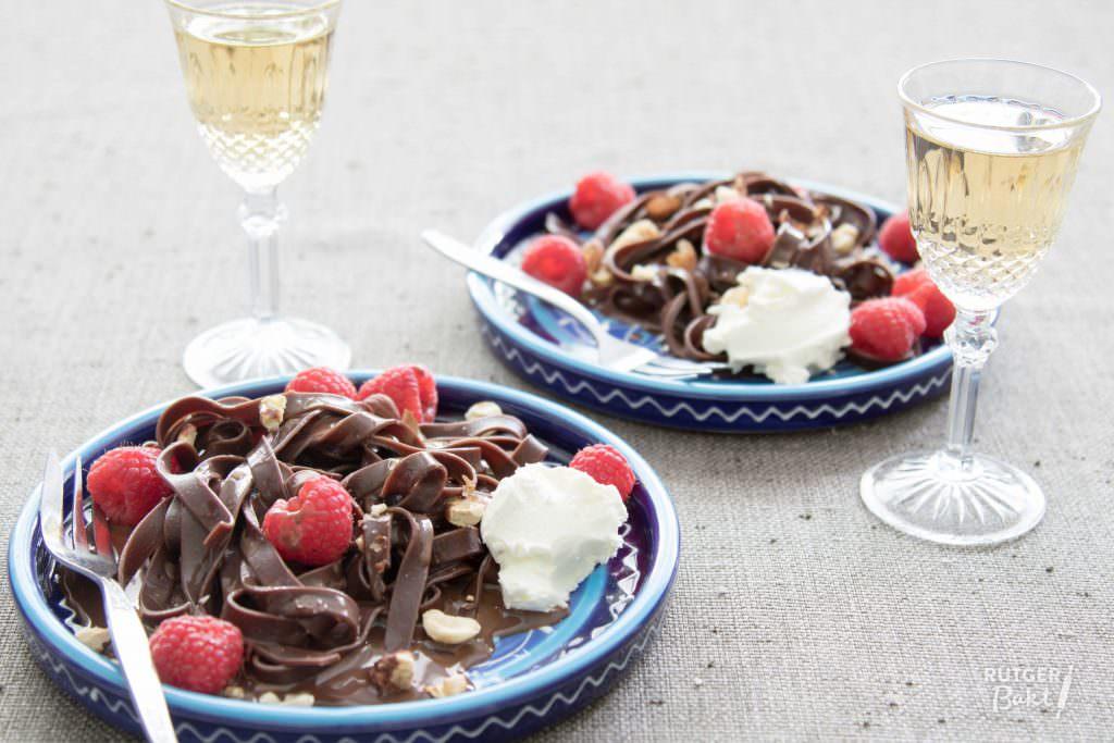 Chocoladepasta met hazelnootroom