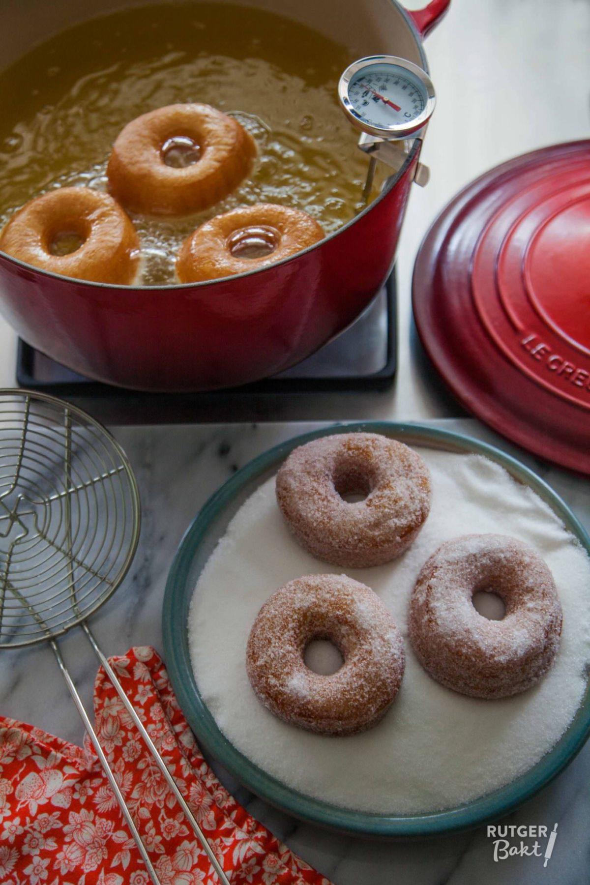Zelf donuts bakken – recept