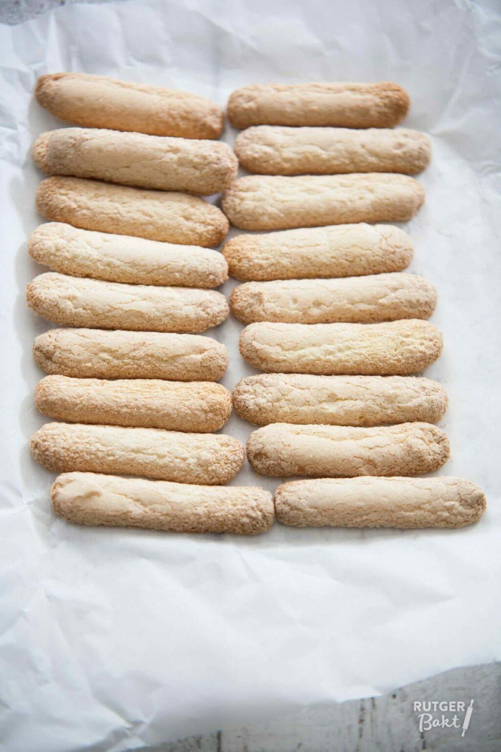 Lange vingers bakken – recept