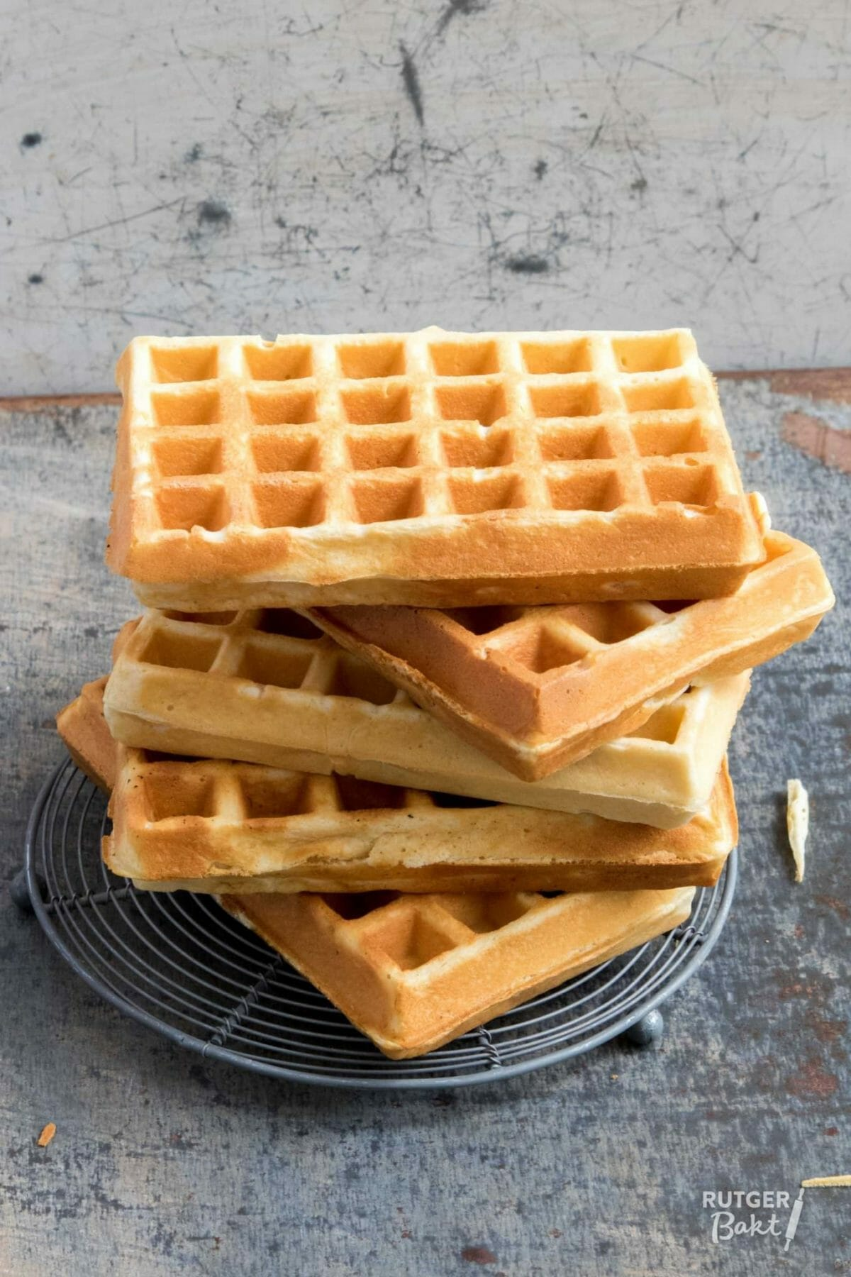 Wafels bakken – basisrecept