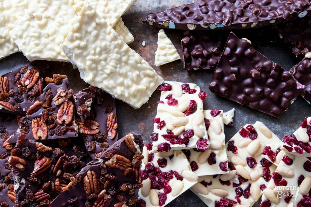 Zelf chocoladebrokken maken
