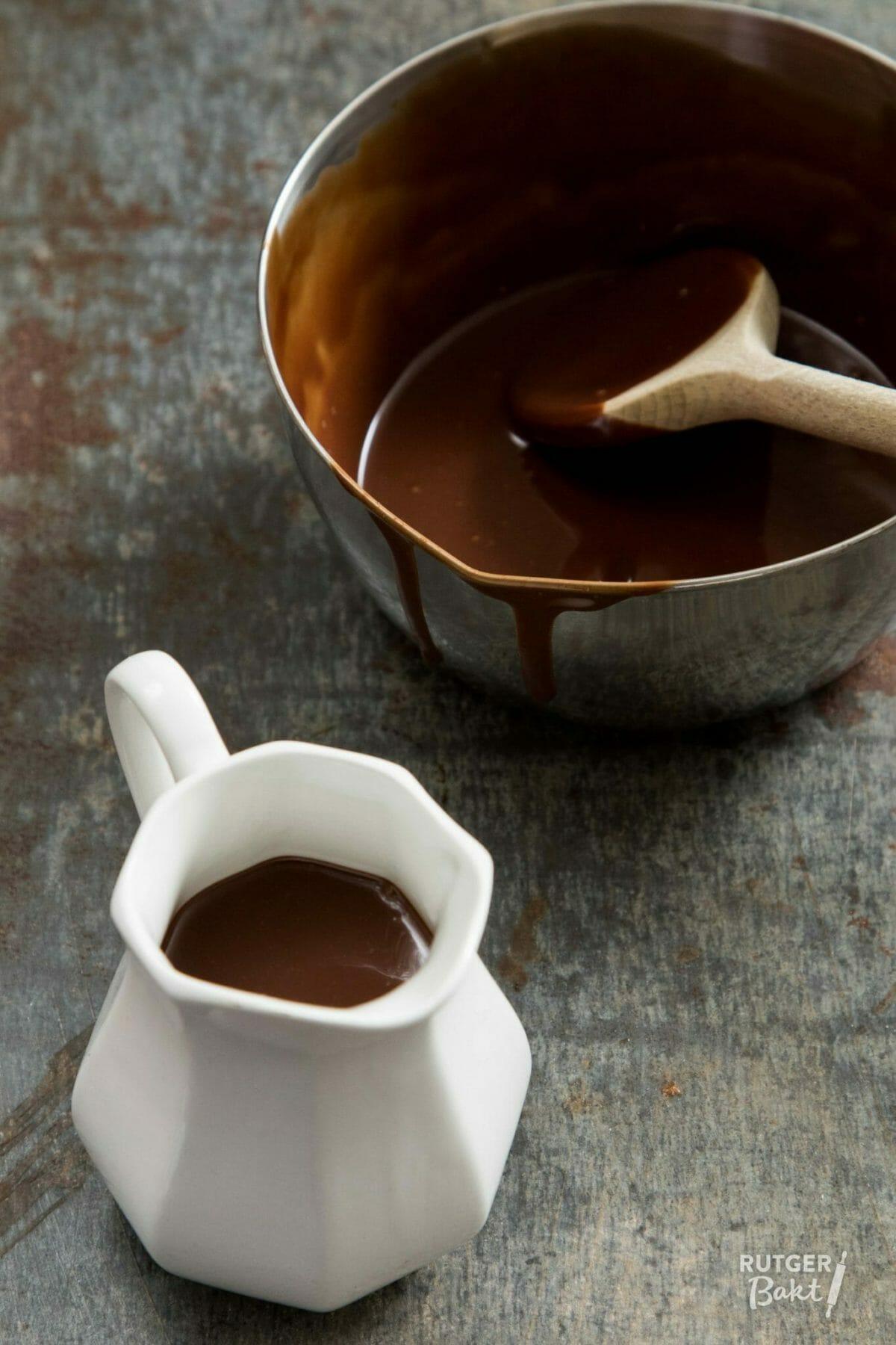 Zelf chocoladesaus maken – recept