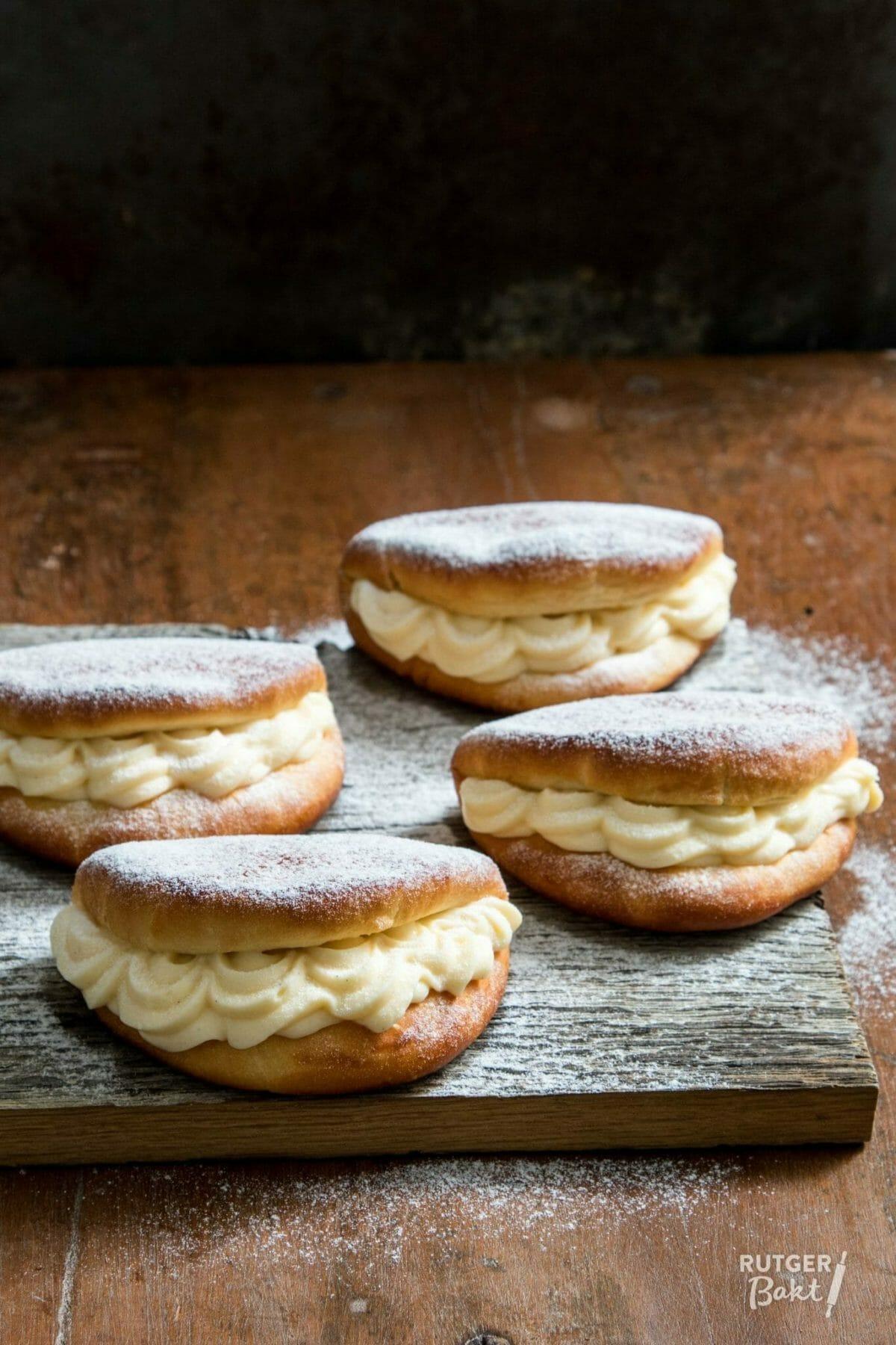 Roombroodjes zelf bakken – recept