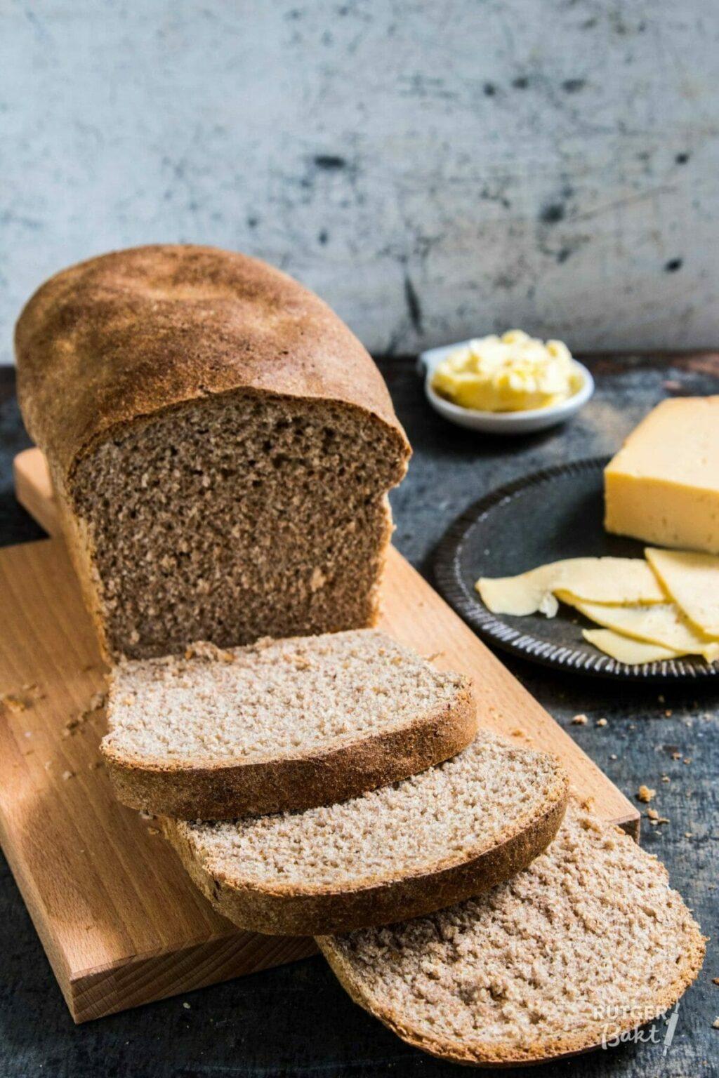 Volkoren brood in blik – recept