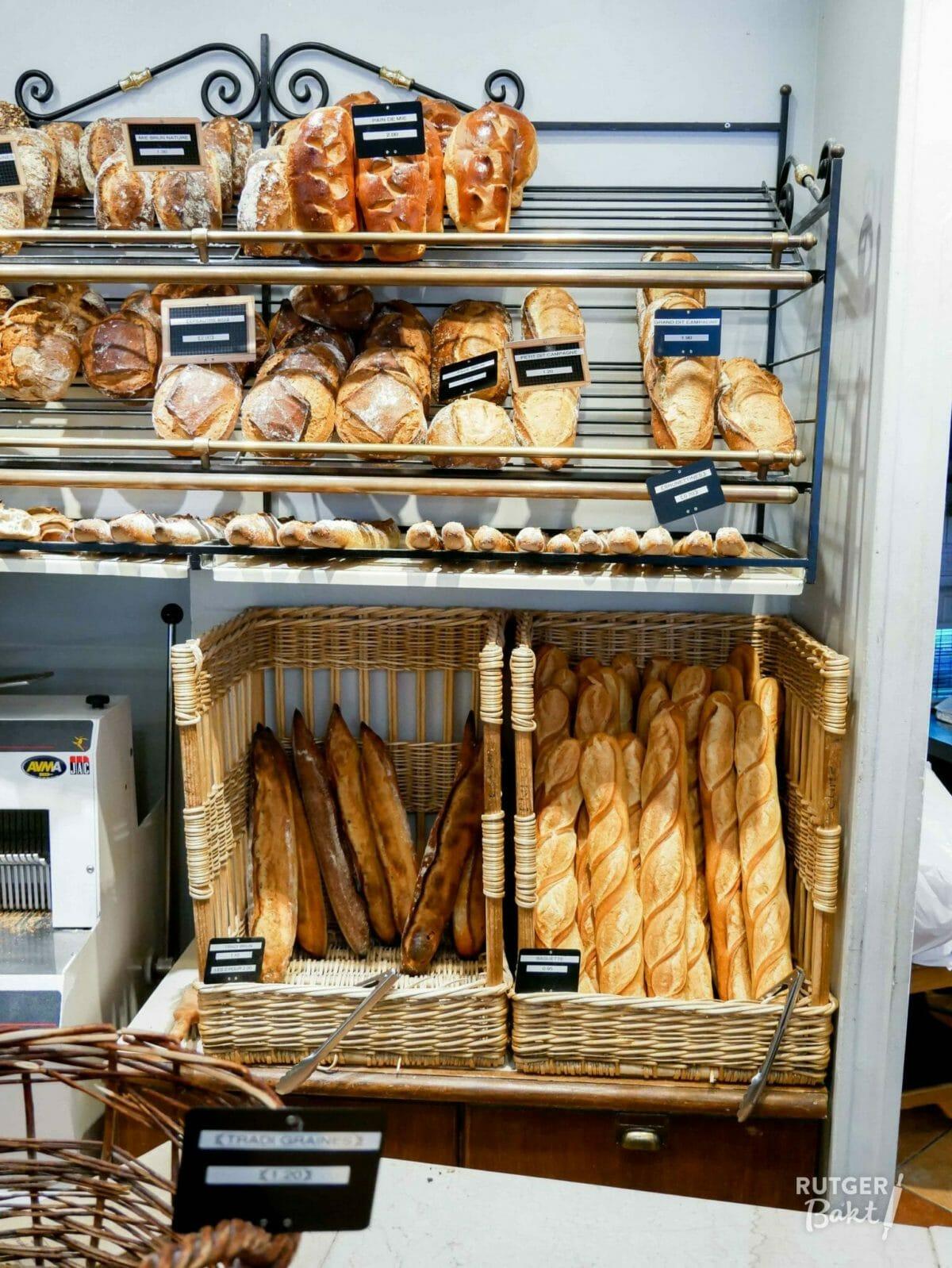 10 x brood en broodjes van de Franse Bakker