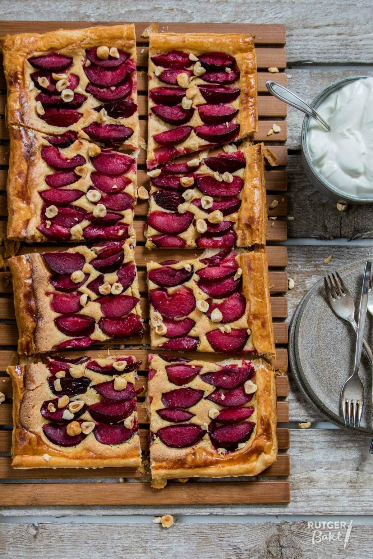 4 x bakken met zomerfruit