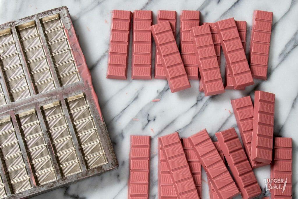 Ruby chocolade