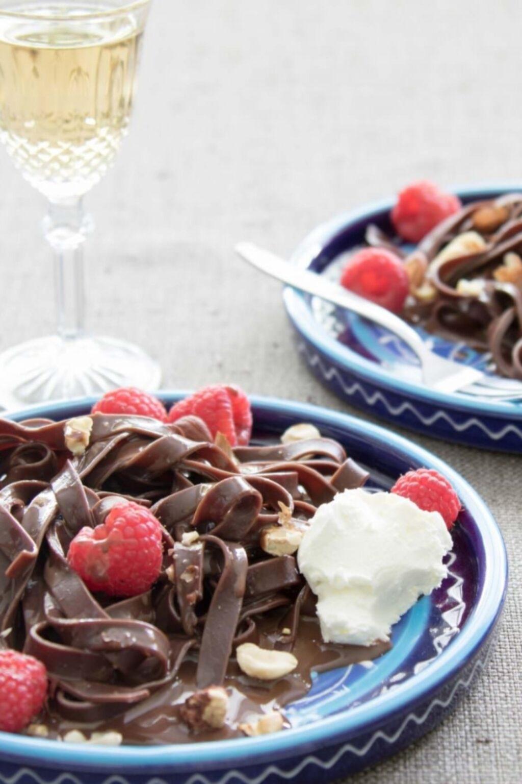 Chocoladepasta met hazelnootroom – recept