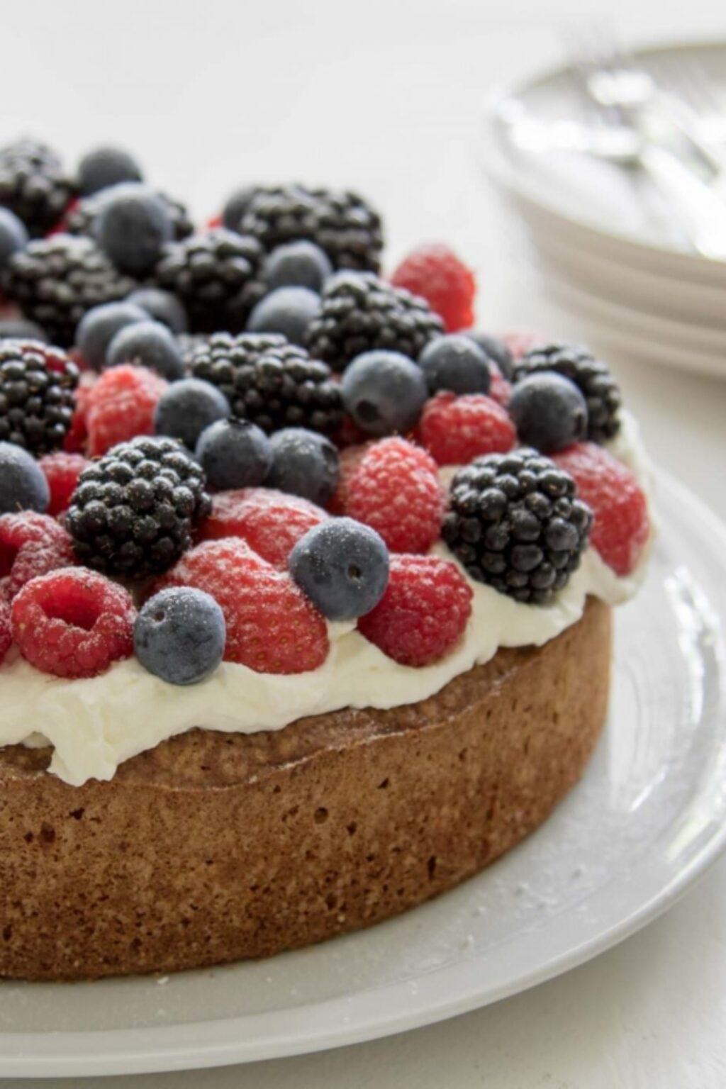 Glutenvrije zomer taart bakken – recept