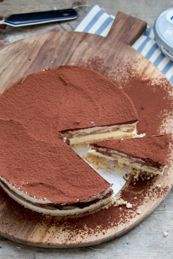 Tiramisu Philadelphia cheesecake – recept