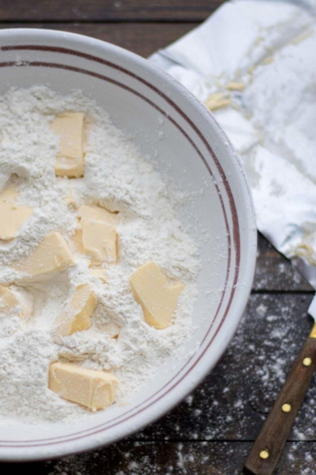 Margarine en bakken!