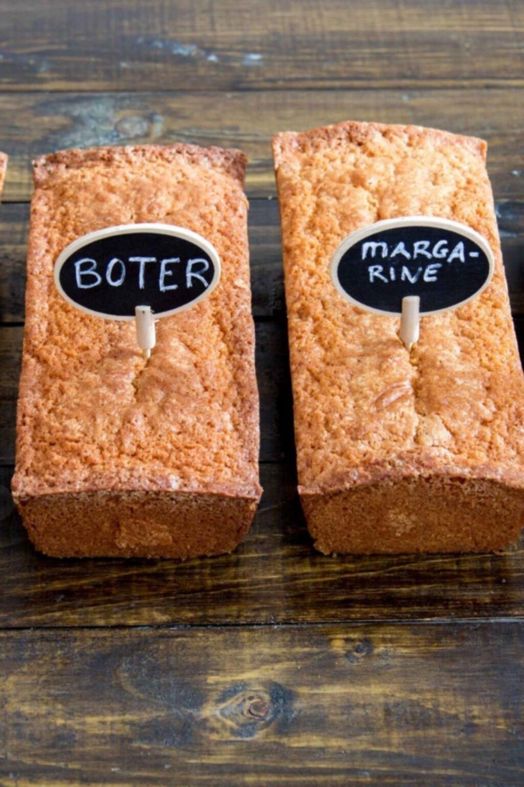 In de test: cakes met verschillende vetstoffen