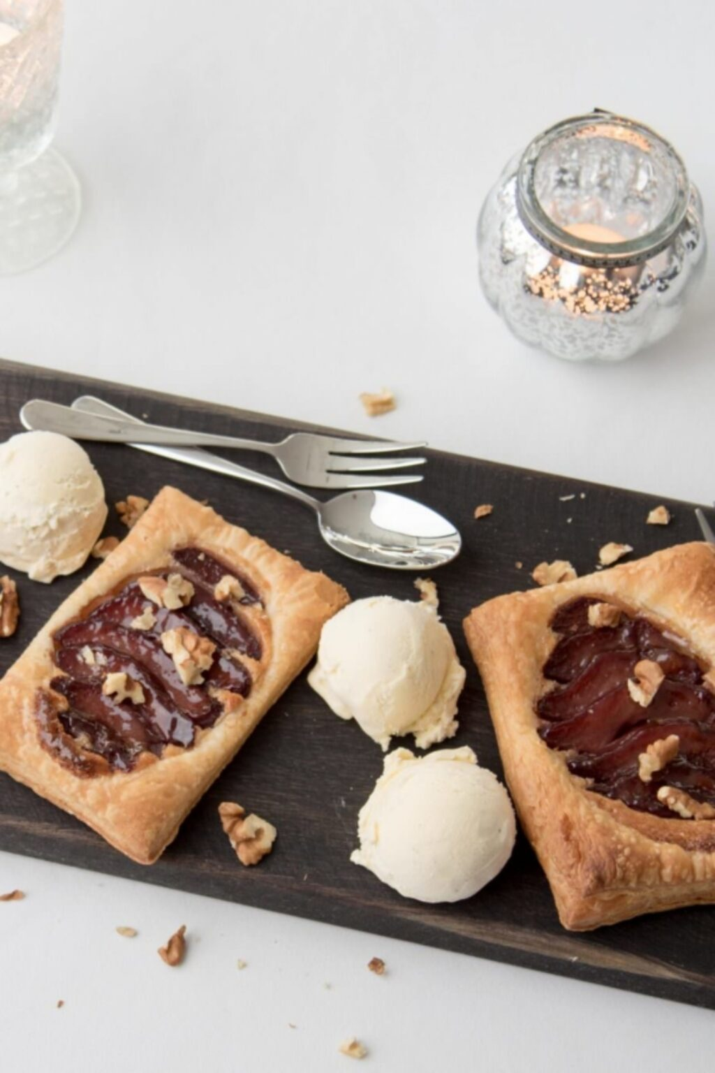 Stoofperengalettes met walnoten – recept