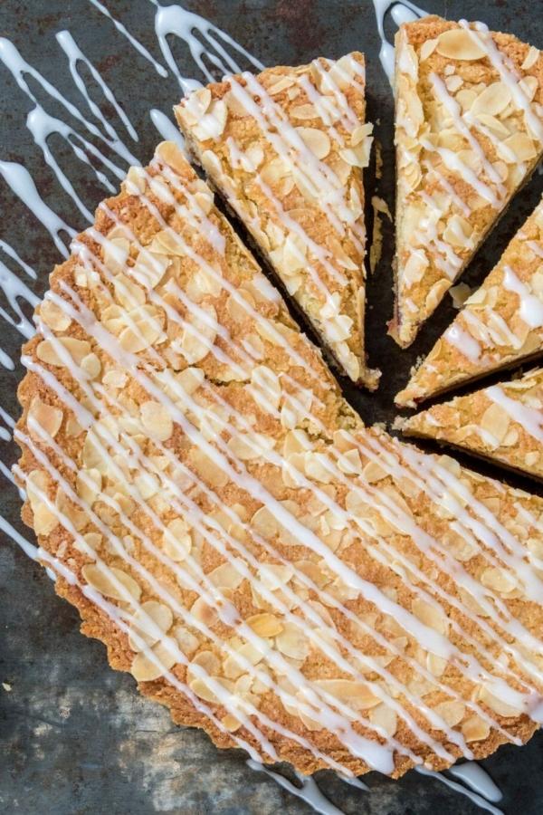 Bakewell taart – recept