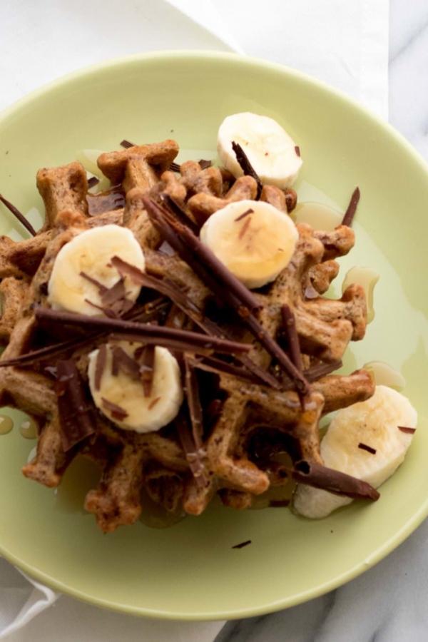 Bananabread wafels – recept