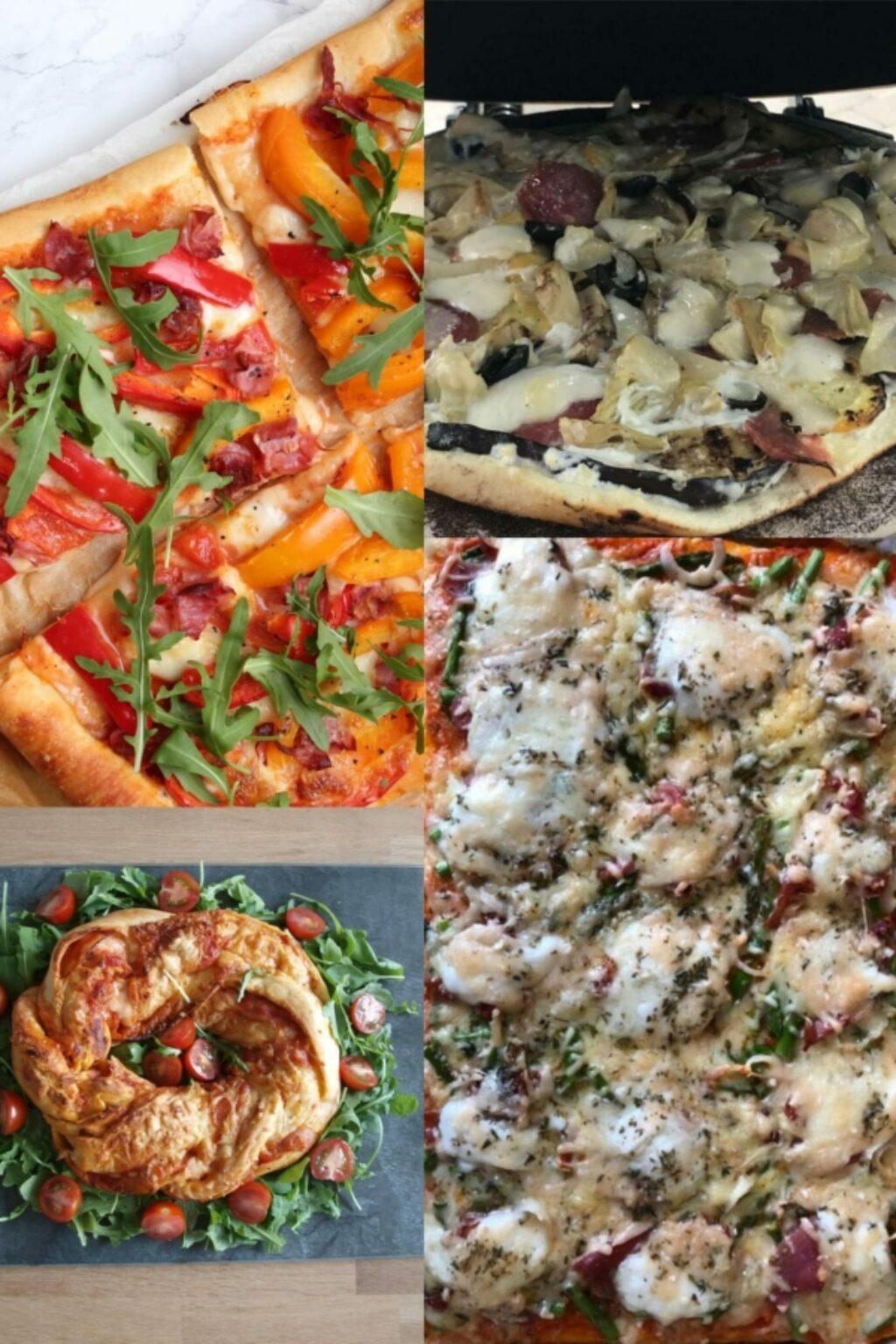 De lekkerste pizzarecepten met Tante Fanny pizzadeeg