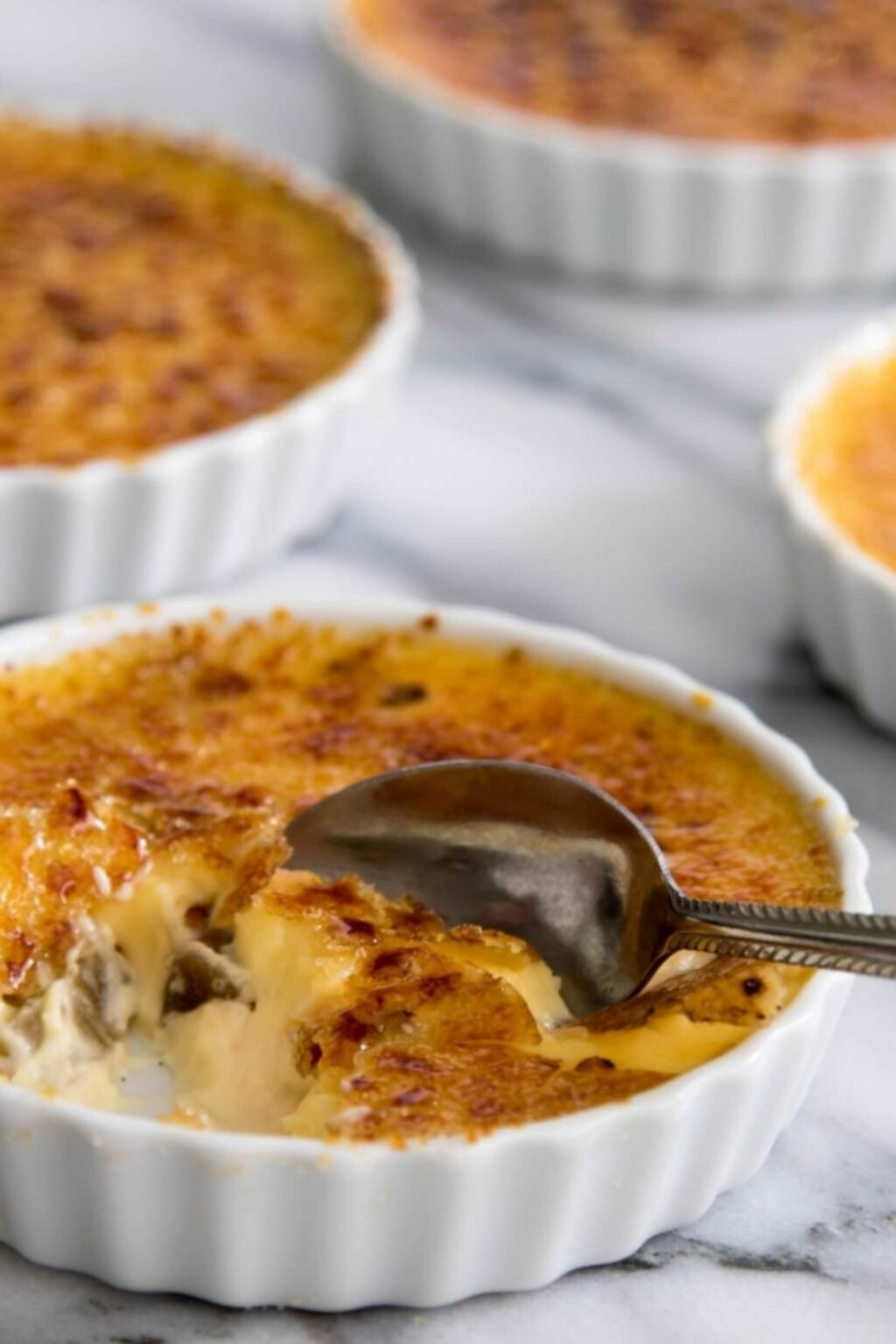 Crème brûlée met rabarber recept