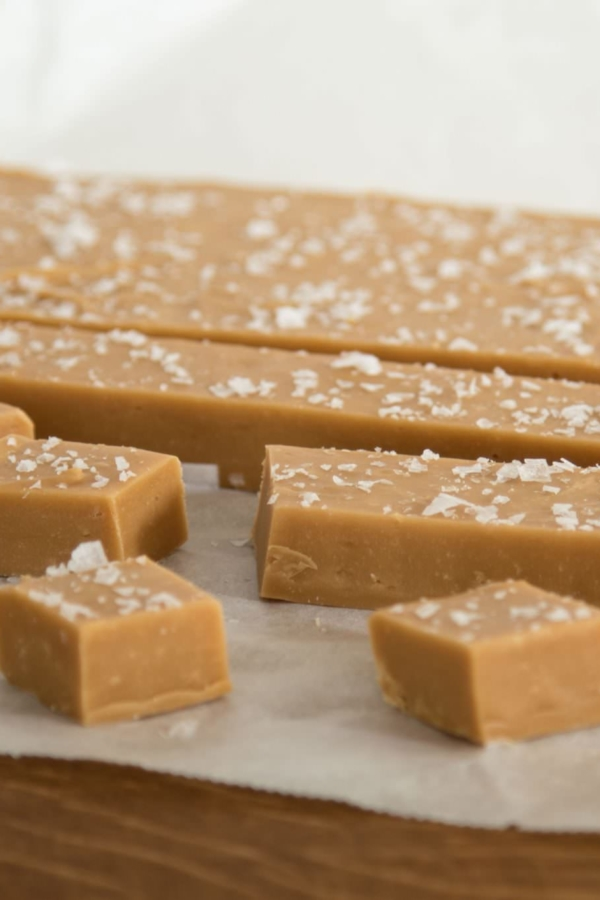 Fudge met gezouten karamel – recept