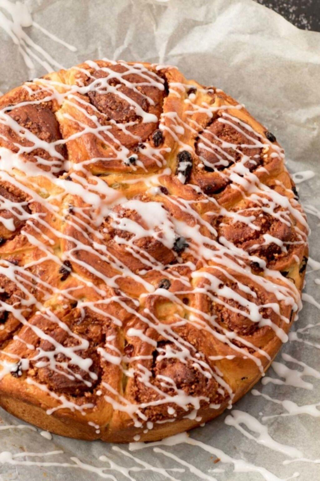 Kaneelbroodjes met geroosterde hazelnoten – recept