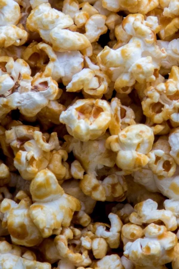 Popcorn met gezouten karamel – recept