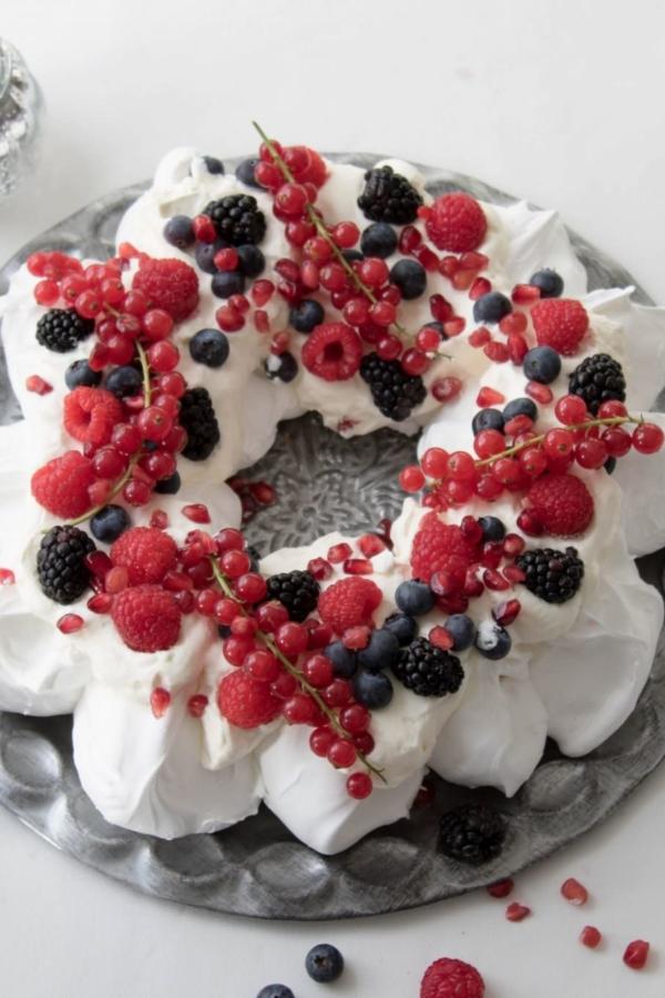 Kerstpavlova – recept