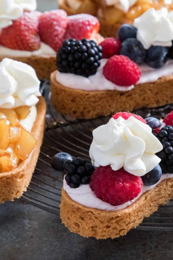 Drie verschillende soorten mini-slofjes – recept