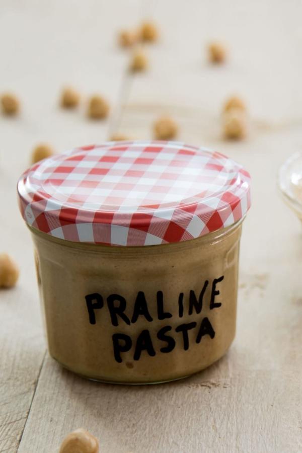 Hazelnoot praliné pasta – recept