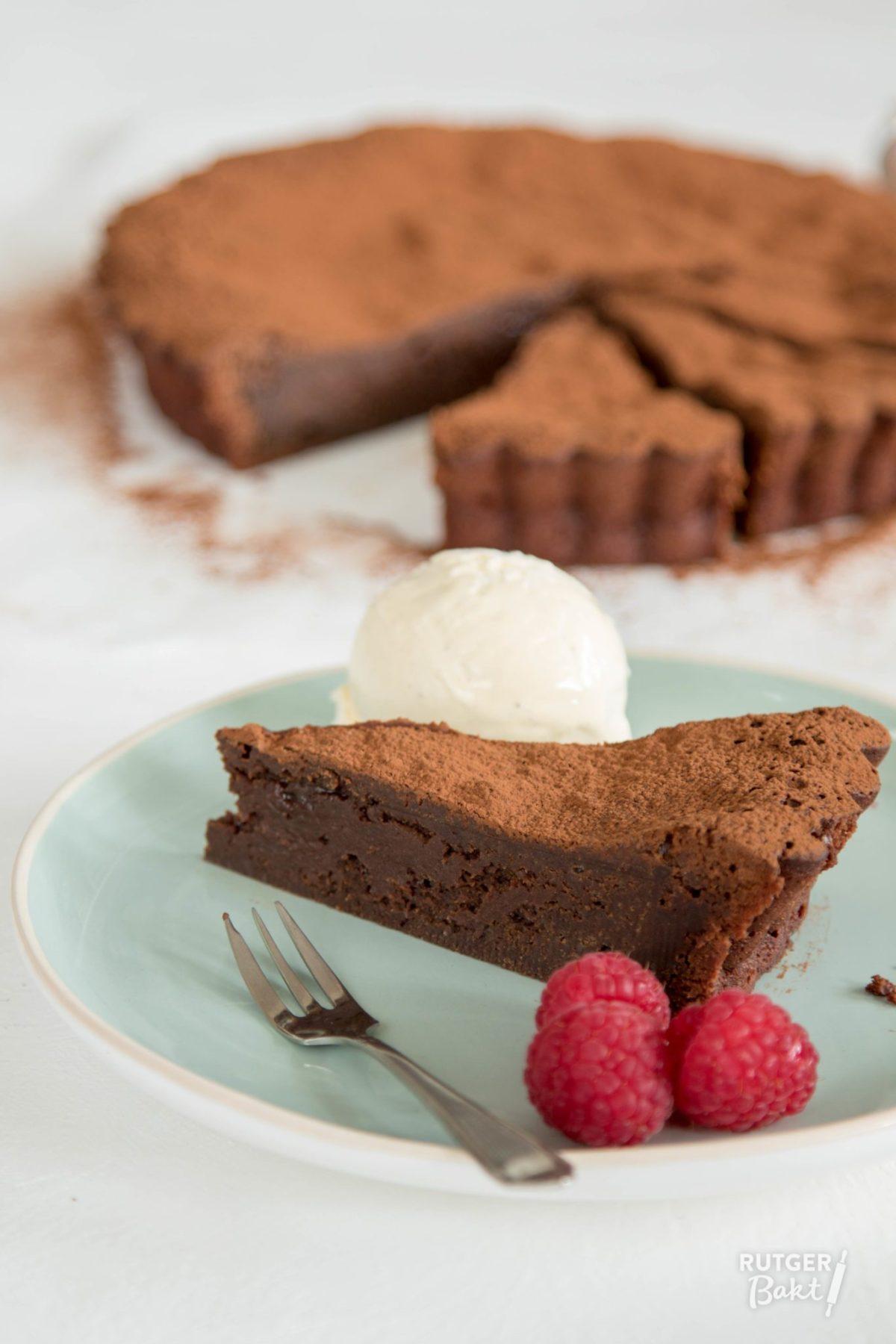 Smeuïge chocoladetaart – recept