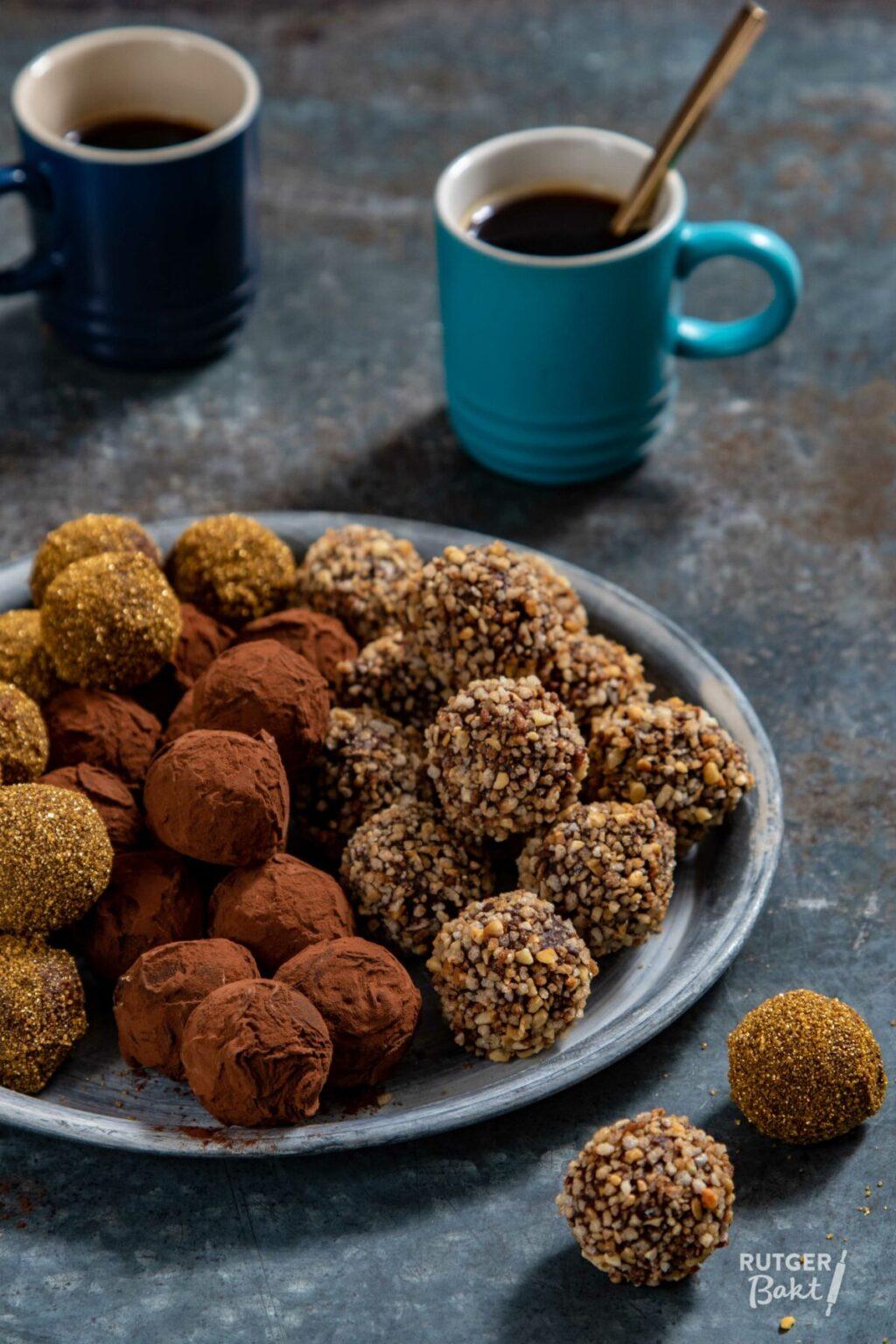 Drie soorten chocolade truffels maken