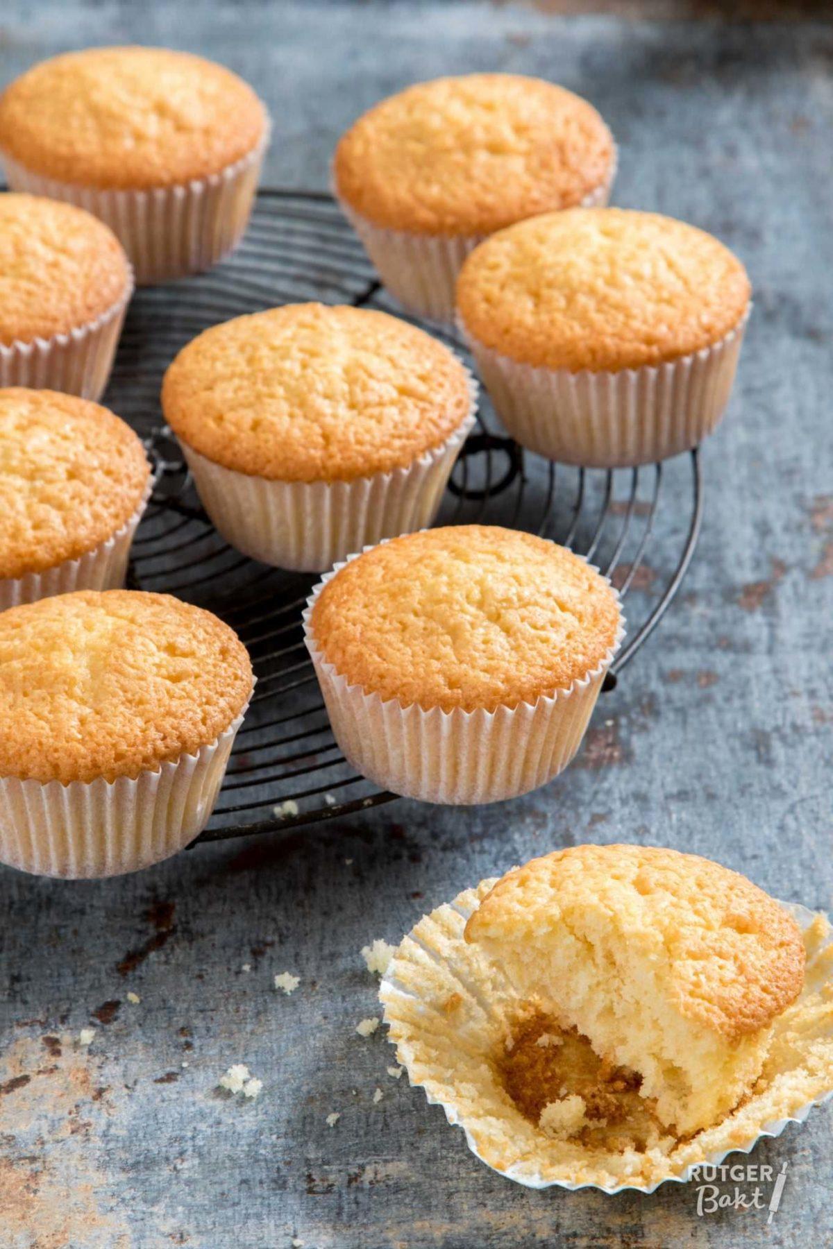 Cupcakes bakken – recept