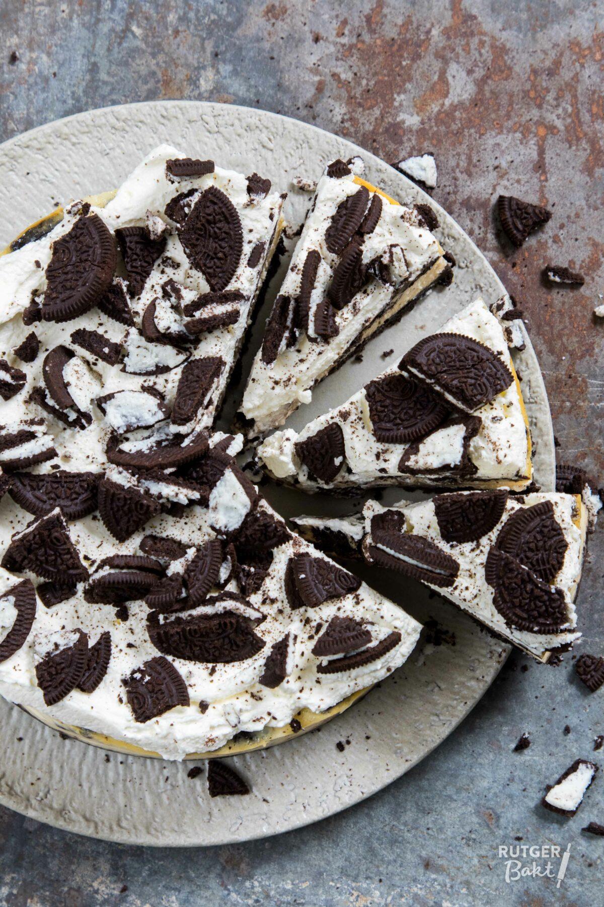 Hedendaags De lekkerste oreo cheesecake – recept - Rutger Bakt NO-28