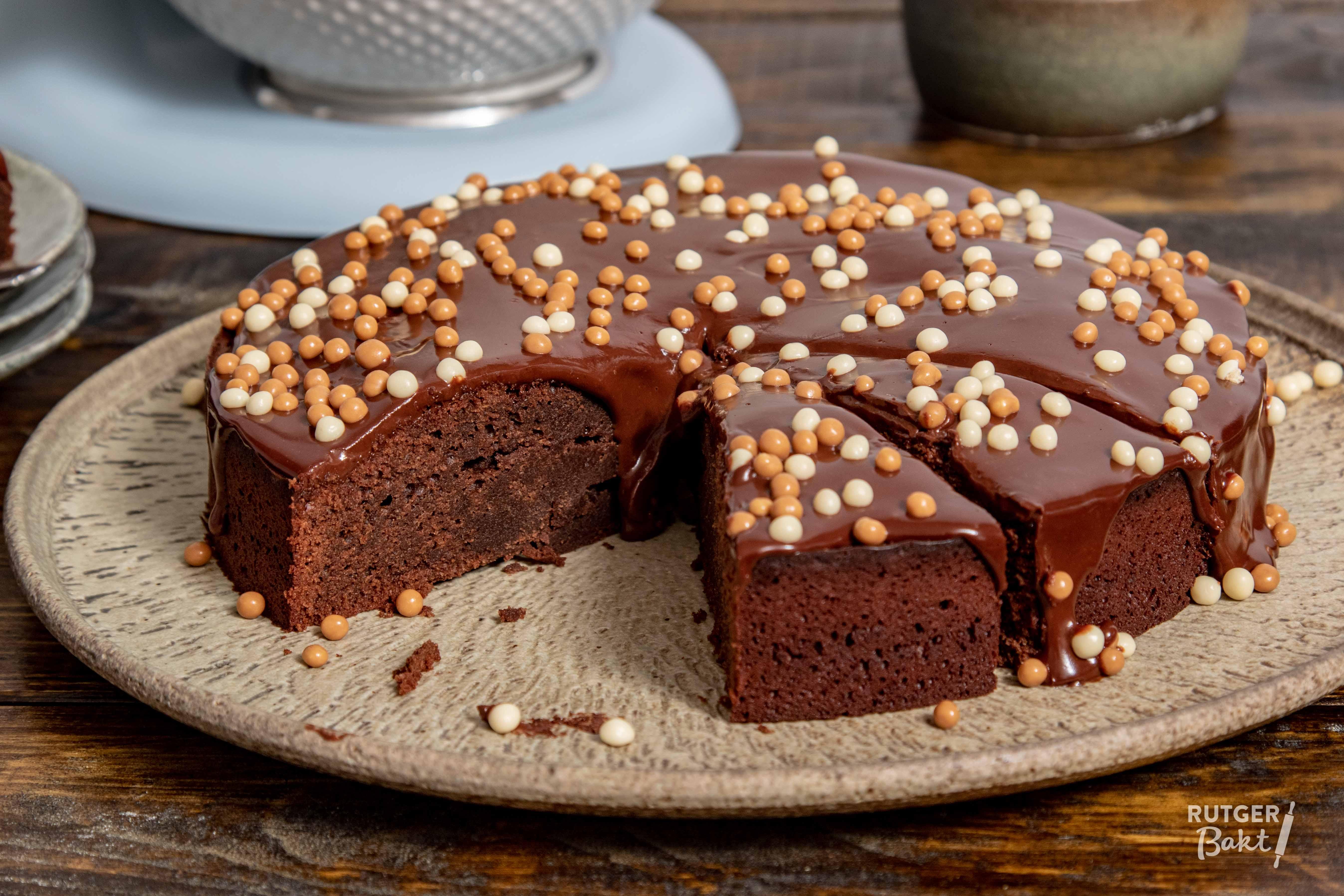 Mijn eerste chocoladetaart