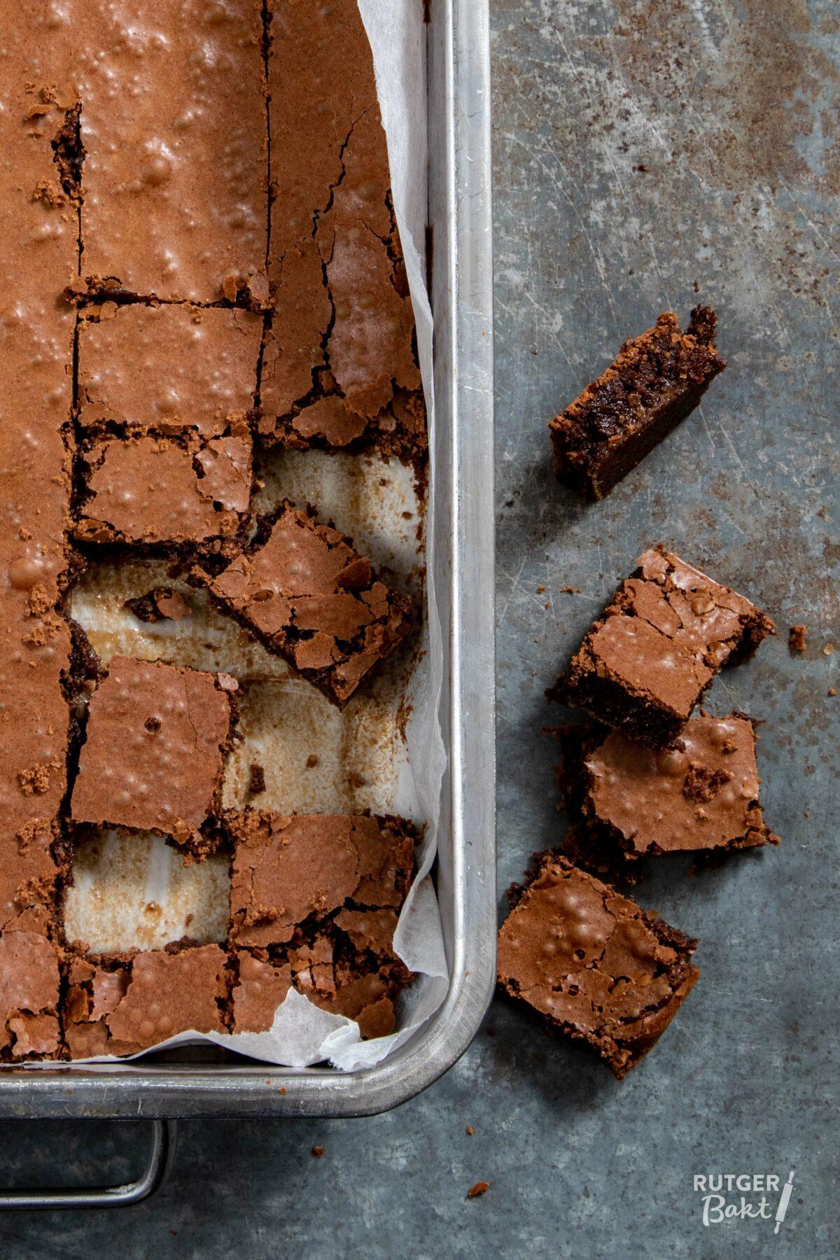 Chocolade mokka fudge van Yvette