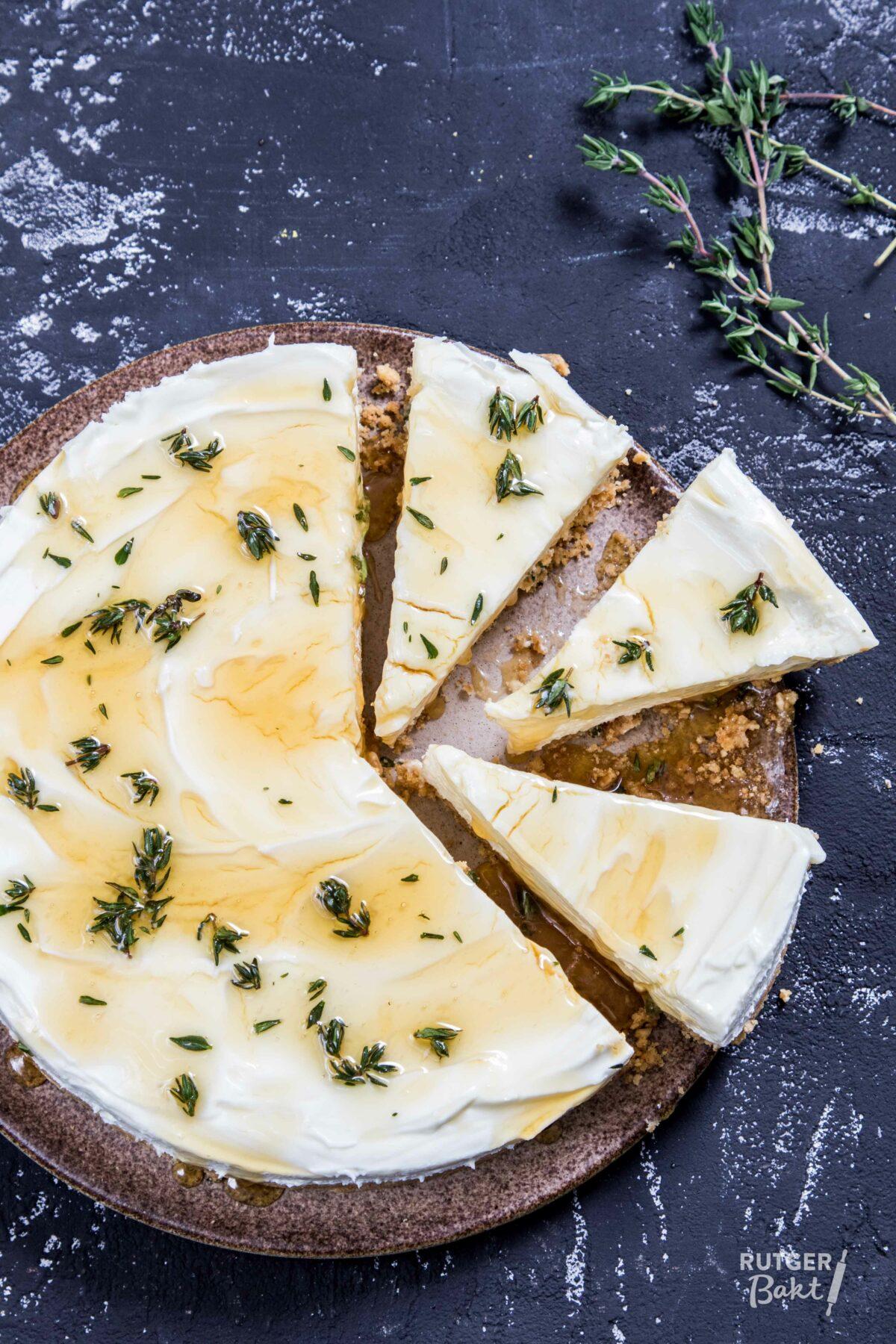 No-bake cheesecake van Ottolenghi