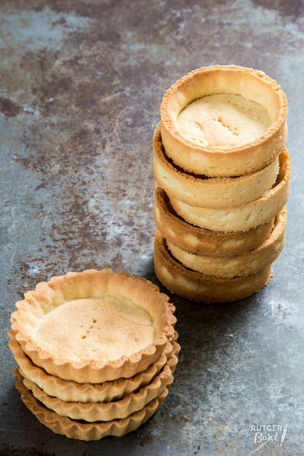 Tartelette bodems bakken – basisrecept