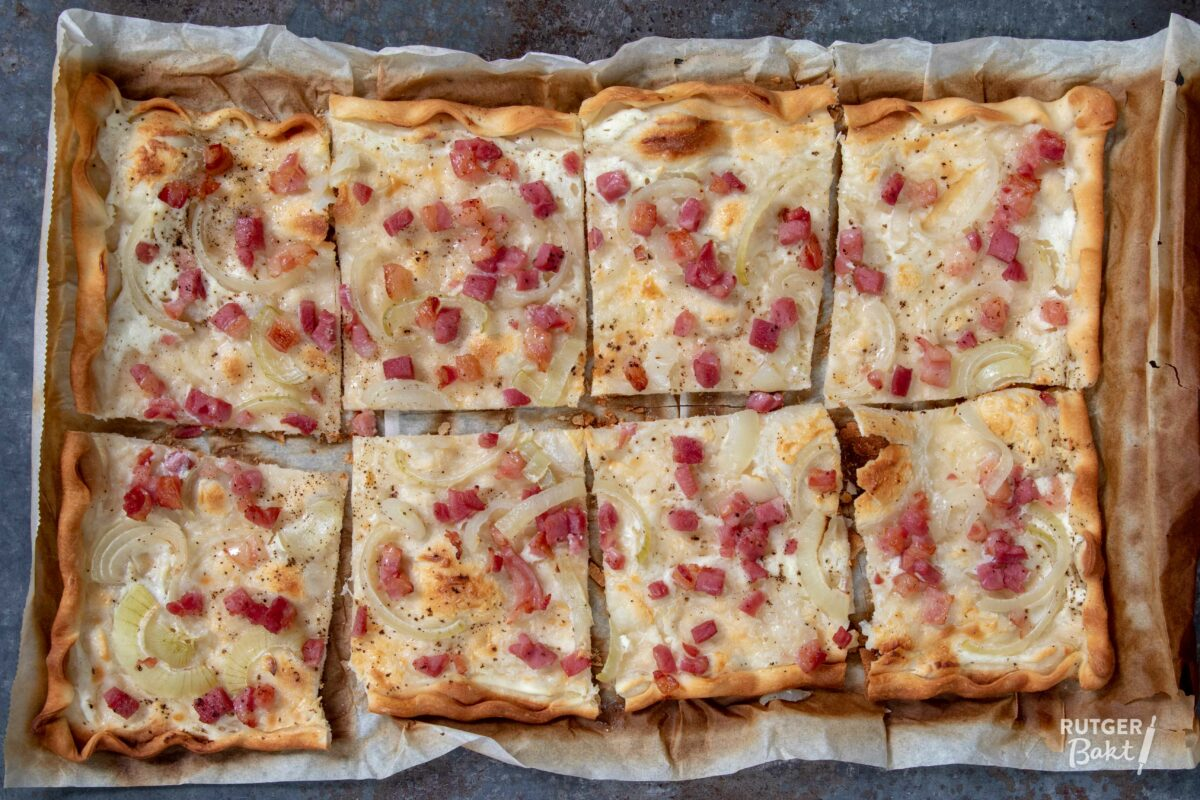 Alles over flammkuchen deeg