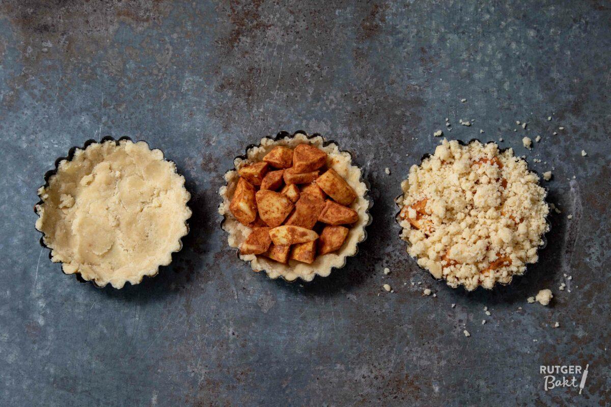 Makkelijke kleine appeltaartjes