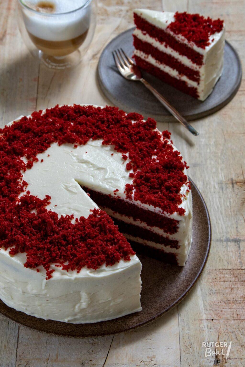 Red velvet taart bakken – recept