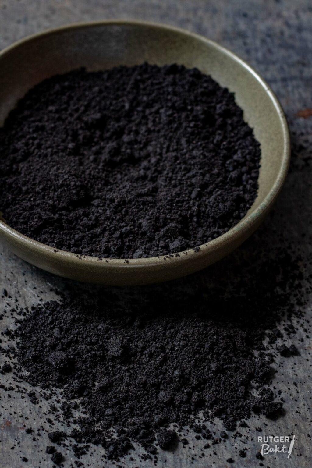 Chocolade kruimels – eetbare aarde maken