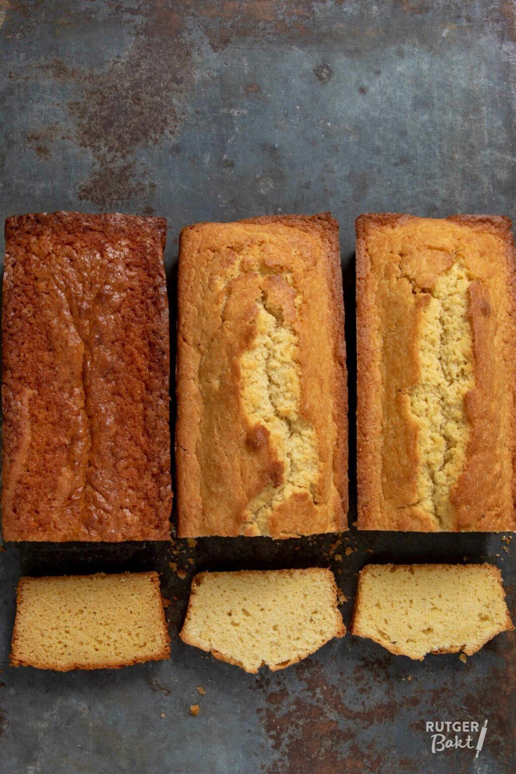 Cake bakken met suikervervangers