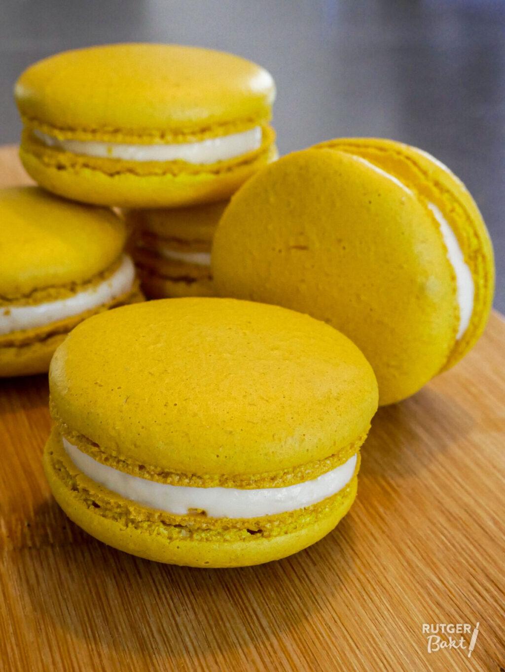 Frisse citroen macarons – recept