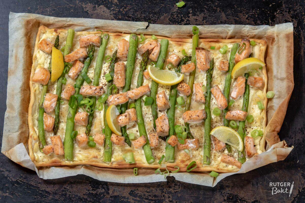 3 x flammkuchen met zalm – recepten