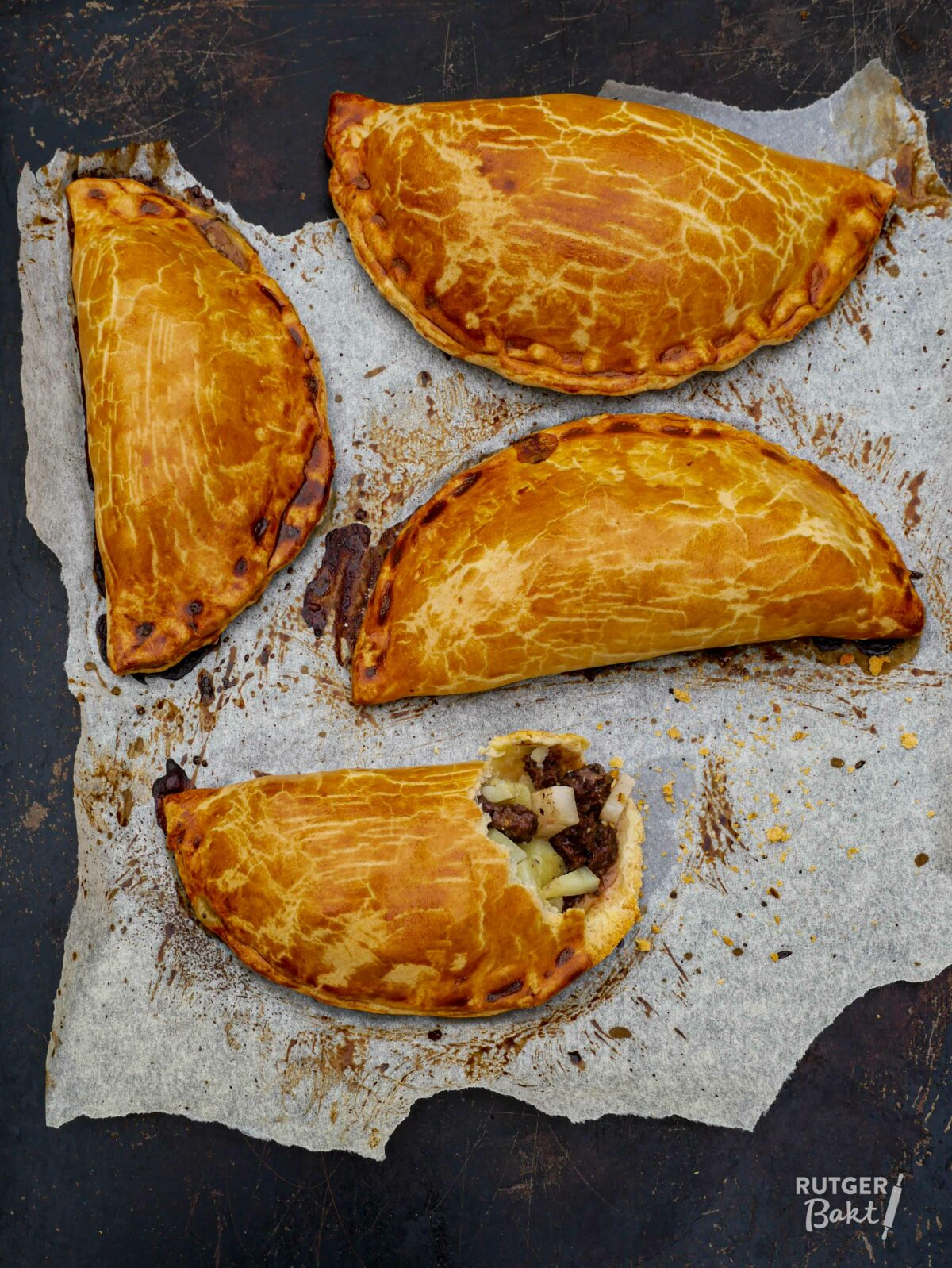 Cornish pasties – recept