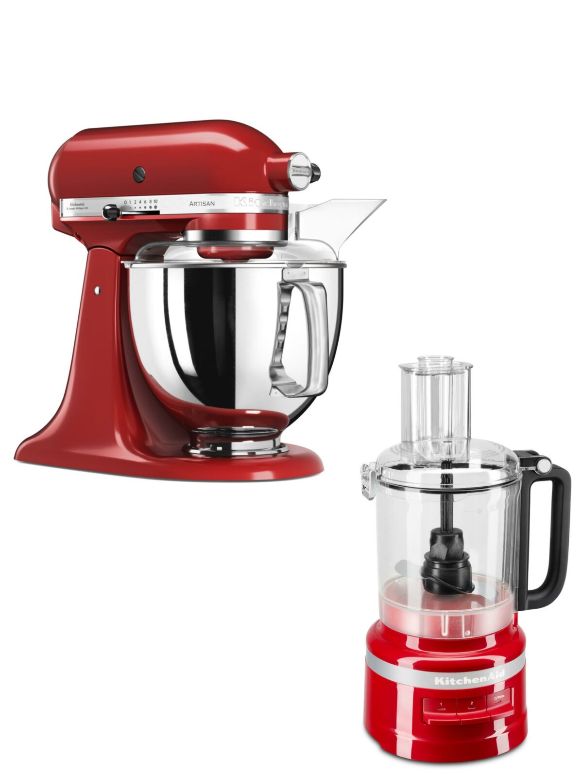 Win een KitchenAid standmixer of foodprocessor!