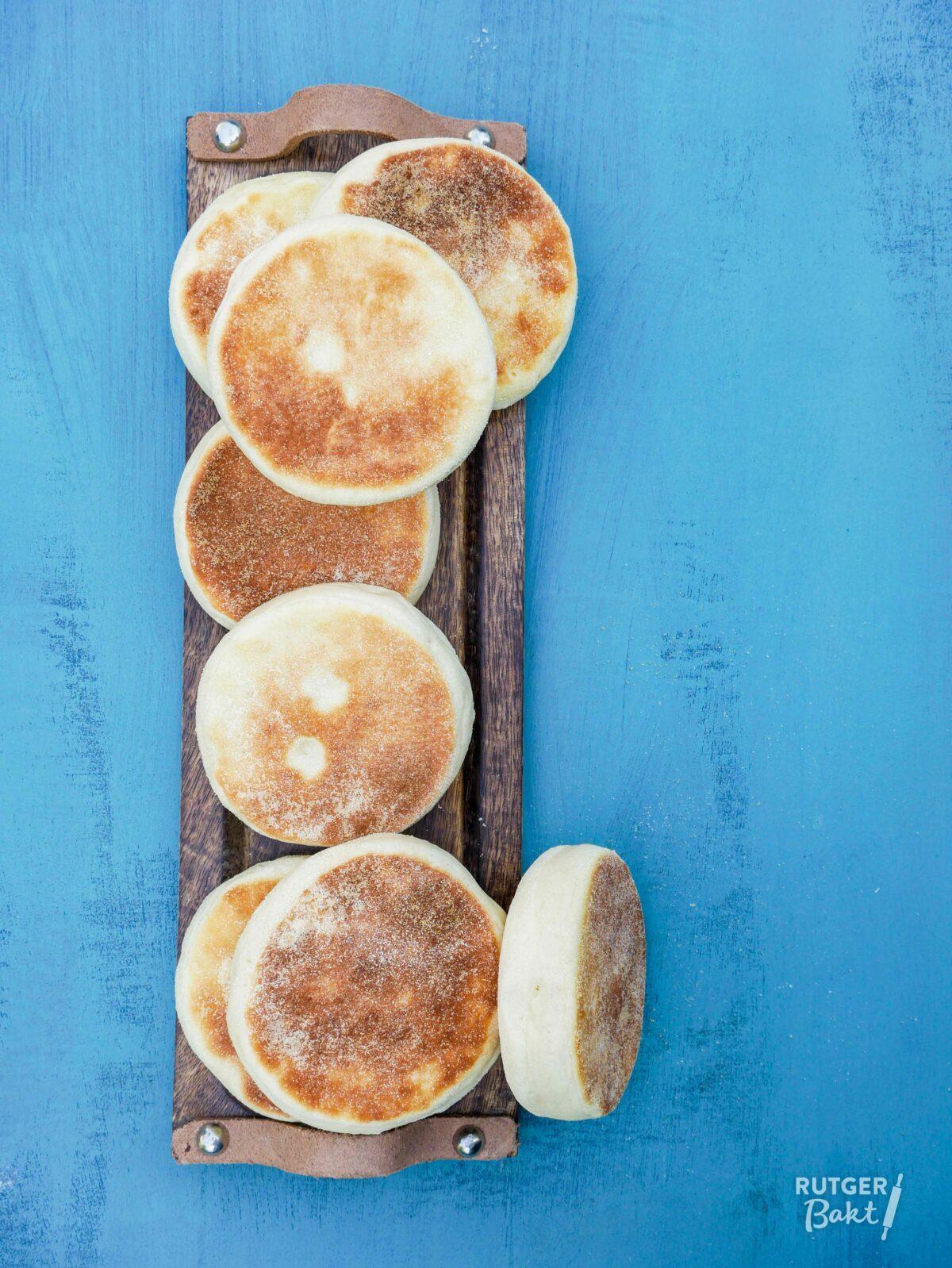 English muffins voor eggs benedict