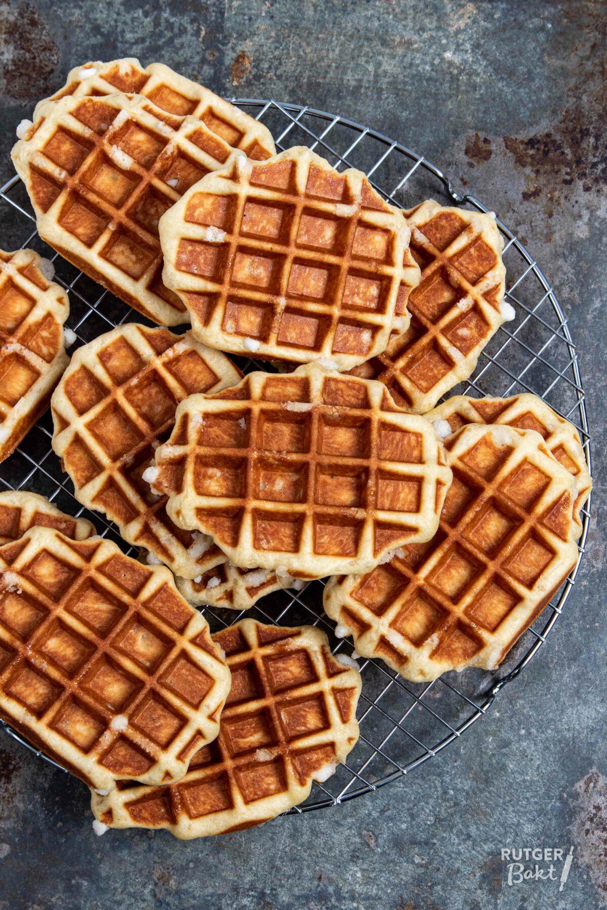 Zelf Luikse wafels bakken – recept
