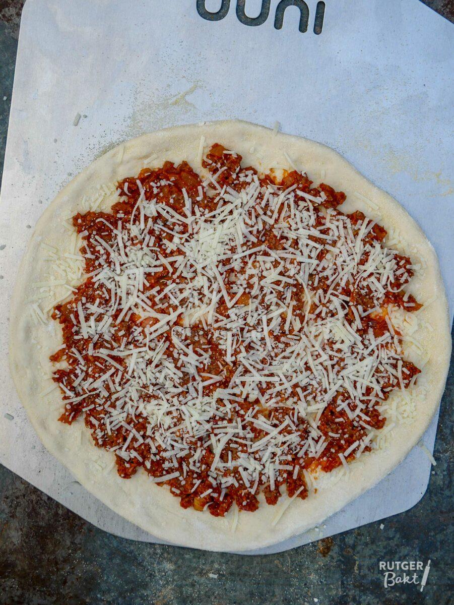 Pizza bolognese – recept